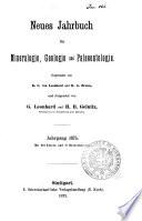Neues Jahrbuch fur Mineralogie, Geologie und Palaeontologie