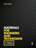 Materials for Engineers and Technicians  6th Ed