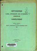Göteborgs Kungl. Vetenskaps- Och Vitterhets-samhälles Handlingar