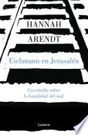 Eichmann en Jerusal  n