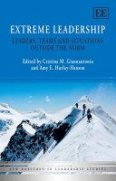 Extreme Leadership Book