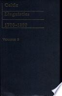 Celtic Linguistics, 1700-1850: Reserches sur les langues celtiques