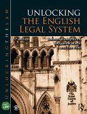 download ebook unlocking the english legal system pdf epub