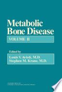 Metabolic Bone Disease book