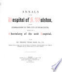 Annals of the Hospital of S. Wulstan