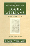 download ebook the complete writings of roger williams, volume 6 pdf epub