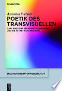 Poetik des Transvisuellen