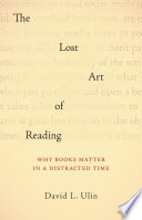 The Lost Art of Reading Book PDF