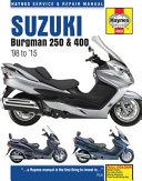 Suzuki Burgman 250   400  98 to  15