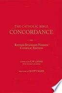 The Catholic Bible Concordance