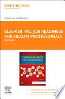 Job Readiness For Health Professionals E Book