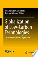 Globalization of Low Carbon Technologies