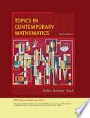 Topics in Contemporary Mathematics  Enhanced Edition