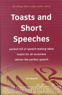 Toasts and Short Speeches