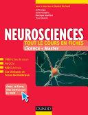 Neurosciences   Tout le cours en fiches
