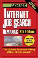 Adams Internet Job Search Almanac