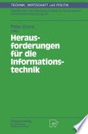 Herausforderungen für die Informationstechnik