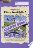 Fitzroy Word Skills 3 Answer Book (Stories 21-30)