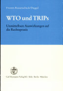 WTO und TRIPs