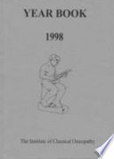 Institute of Classical Osteopathy Year Book 1998