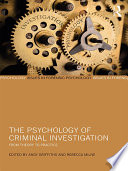 The Psychology Of Criminal Investigation