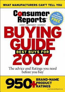 Buying Guide 2007 Canadian Edition