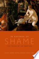 In Defense of Shame