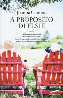 A proposito di Elsie Book Cover
