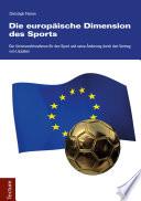 Die europäische Dimension des Sports