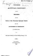 Twentieth Annual Report Of The Trustees Of The Society Etc