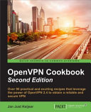 OpenVPN Cookbook   Second Edition