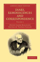 Diary, Reminiscences and Correspondence