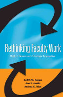 Rethinking Faculty Work