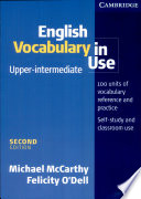 English Vocabulary in Use Upper Intermediate with Answers