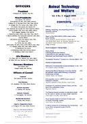 Animal Technology And Welfare book