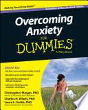 Overcoming Anxiety For Dummies Australia Nz