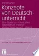 Konzepte von Deutschunterricht