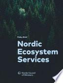 Policy Brief Nordic Ecosystem Services