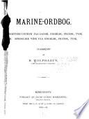 Marine-ordbog