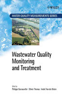 Wastewater Quality Monitoring And Treatment book