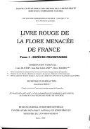 Livre rouge de la flore menac  e de France  Esp  ces prioritaires
