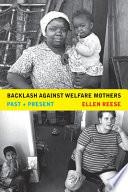 Backlash against Welfare Mothers Pdf/ePub eBook