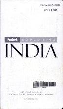 Fodor s Exploring India
