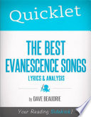 Quicklet on The Best Evanescence Songs  Lyrics and Analysis