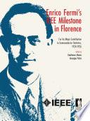 Enrico Fermi's IEEE Milestone in Florence