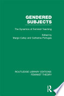 Gendered Subjects
