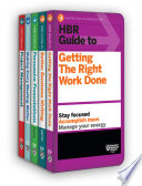 HBR Guides To Being An Effective Manager Collection (5 Books) (HBR Guide Series) : that covers topics from personal effectiveness...
