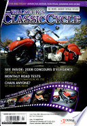 WALNECK S CLASSIC CYCLE TRADER  JANUARY 2009