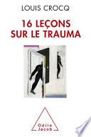 illustration 16 Leçons sur le trauma