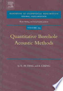 Quantitative Borehole Acoustic Methods book